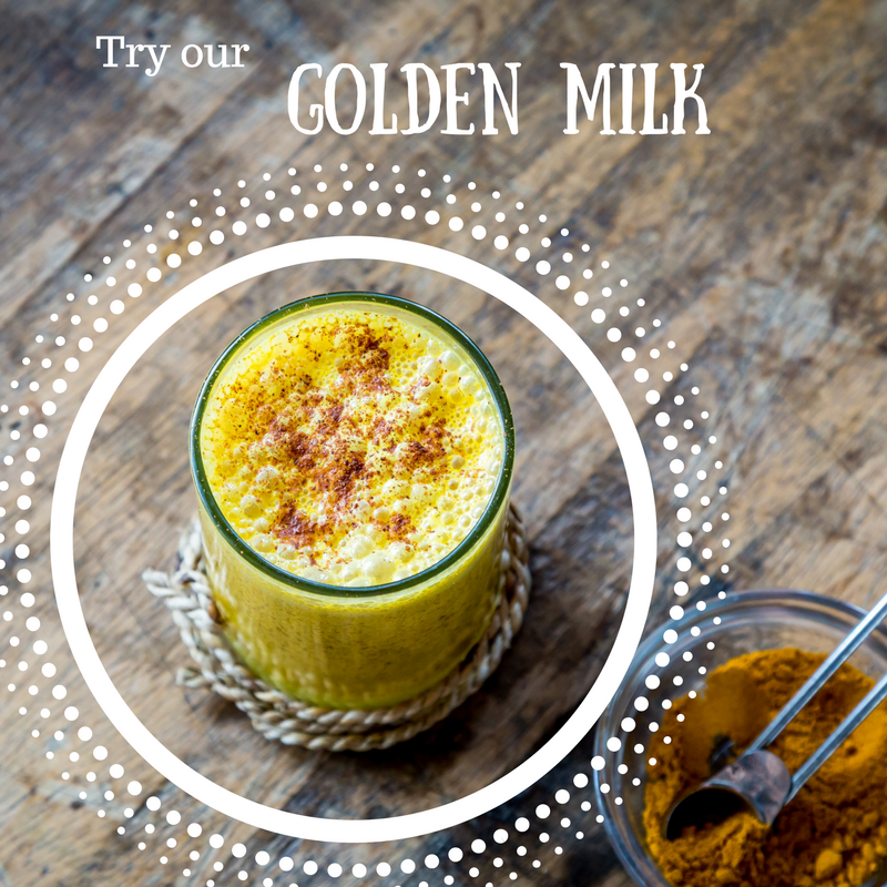 Golden milk- just the cure you've been looking for